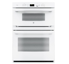 GE Profile 30  Double Electric Microwave Convection Wall Oven WHITE PT7800DHWW