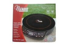 NuWave Precision Induction Cooktop Model 30121 Portable Fast Cooking Open Box