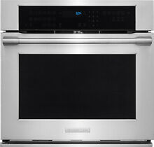 Electrolux  30 Inch Single Electric Wall Oven  Dual Fan Convection  E30EW75PPS