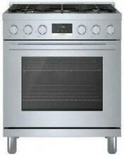Bosch 800 Series HGS8055UC 30  Freestanding Gas Range with 5 Sealed Burners