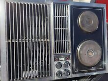 Vintage Jenn Air Electric Downdraft C221 Cooktop and Grill