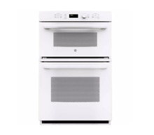 GE 27  Double Electric Wall Oven with Built In Microwave WHITE JK3800DHWW