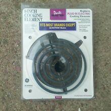 Parts Master GE 8 inch Cooking Element Range Stove 8  PM30X206 Plug In 4 coil