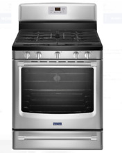 Maytag 30  Stainless Steel Freestanding Gas Range MGR8700DS