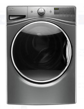 Whirlpool 27  Chrome Shadow Front Load Washer WFW85HEFC