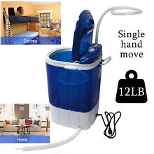 Portable Washing Machine 3Kg Capacity W  Spinner Timer Control For Apartment Tra