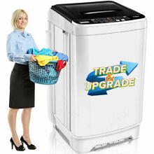26lbs Automatic Washing Mahine 2 IN 1 Portable Compact Laundry Washer and Dryer