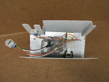 GE Refrigerator Ice Auger Motor on Housing Part   WR60X10125 WR17X11460