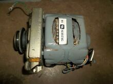 OLDER MAYTAG WASHER MOTOR ASSEMBLY 2 1664 13 NICE 1725 RPM   FROM MODEL A7300
