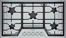 Thermador Masterpiece Series 36  5 Sealed Burner Gas Cooktop SGS365TS Stainless