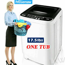 8KG Portable Mini Twin Tub Compact Washing Machine Washer Spin Dryer 8 Levels