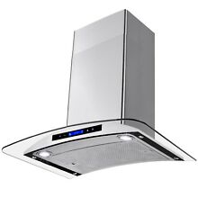 30  Wall Mount Stainless Steel Kitchen Range Hood Stove Vent Exhaust