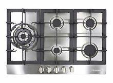 30  GAS COOKTOP STAINLESS STEEL W  5 BURNERS  850SLTX E   NEW