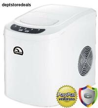 Compact Ice Maker Portable Delux Mini Nugget Soft Counter Top Cube Machine Batch