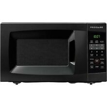 Frigidaire 0 7 Cu Ft 700W Countertop Microwave Oven  Black