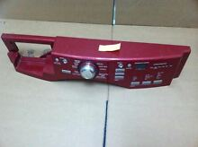 WHIRLPOOL MAYTAG WASHER CONTROL PANEL  RED    PART W10176626
