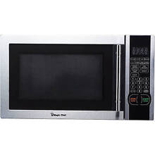 Magic Chef 1 1 cu  ft  Digital Microwave  Stainless Steel  MCM1110ST