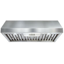 30  Stainless Steel Vented Ultra Quiet Fan Under Cabinet Mount Range Hood
