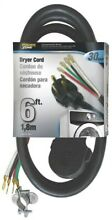 Cord Dryer Indr 10 3x6ft Black No ORD100406   Powerzone  3PK