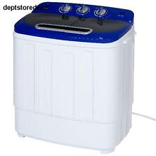 Top Loading Washing Machine Dryer Mini Combo Portable Compact RVs Dorm Rooms Tub