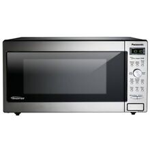 Panasonic NN SD745S 1 6 Cu  Ft  Built In Countertop Microwave Oven