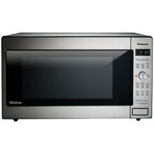 Panasonic NN SD945S 2 2 Cu  Ft  Built In Countertop Microwave Oven