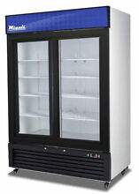 Migali C 49RS HC Two Door Refrigerator Glass Door Merchandiser