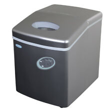 NewAir AI 100S 28 Pound Portable Ice Maker in Silver
