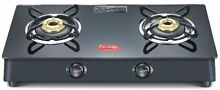 Prestige Marvel Plus Glass Top Gas Table GTM Range Black Gas Stove Cooktop