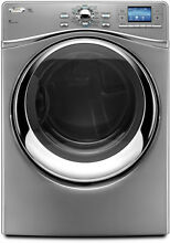 Whirlpool WED97HEXL 27  Silver Front Load Electric Dryer NIB  8455
