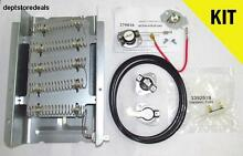 DRYER HEATING ELEMENT THERMAL FUSE HI LIMIT 92  BELT KIT Watt Whirlpool Wiring