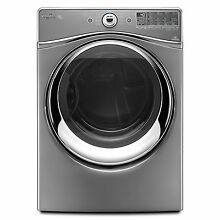 Whirlpool WED94HEAC 27  Chrome Shadow Front Load Electric Dryer NIB  9302