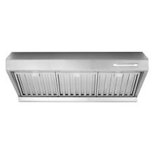 30  Under Cabinet Kitchen Range Hood 800CFM  Stainless Steel  2 Fan  ETL  LEDs
