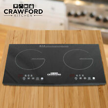NEW Portable 1800W Induction Cooker Electric Cooktop Burner Home Countertop Q