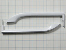 5304506469 5304486359 NEW Frigidaire Refrigerator White Handle  Set of Two