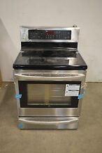 LG LRE3027ST 30  Stainless Freestanding Electric Range NOB  13672