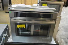 Jenn Air JBS7524BS 24  Stainless Steam Convection Wall Oven NOB  13702