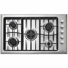 Fisher Paykel CG365CWACX1 36  Brushed Stainless 5 Sealed Burner Gas Cooktop STS