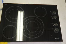 Jenn Air JEC3430BB 30  Black Electric Radiant Cooktop w 4 Burners  6021 NOB T2