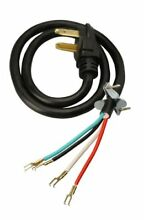 Coleman Cable 4 Feet 30 Amp 4 Wire Dryer Power Cord Replacement Part FREE SHIP