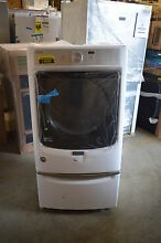 Maytag MED5500FW 27  White Front Load Electric Dryer NOB T 2 CLW  14588