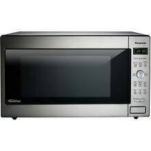 Panasonic 2 2 cu ft Microwave Oven  Stainless