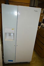 Whirlpool WRS331FDDW 33  White Side by Side Refrigerator NOB T2  15386 CLW