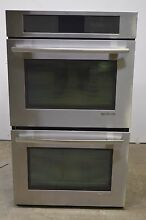 Jenn Air JJW3830WS 30  Stainless Double Electric Wall Oven  1251 CLW