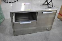 DCS ADR136 36  Built in Stainless Steel Storage Drawer