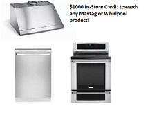 Electrolux 3 Stainless Appliance Package Range Dishwasher and Hood w Credit