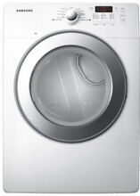 Samsung DV231AGW 27  White Front Load Gas Dryer 7 3 CuFt  NIB  4433