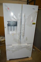 Amana AFI2539ERW 36  White French Door Refrigerator T2 NOB  15786 CLW