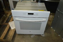 GE JK3000DFWW 27  White Single Electric Wall Oven NOB  15894