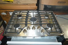 LG LCG3091ST 30  Stainless Gas Sealed Burner Cooktop NOB  15899